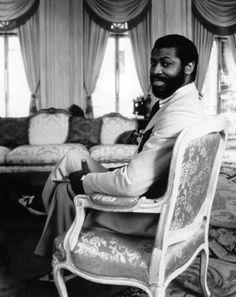 Teddy Pendergrass  1950-2010 Singer, songwriter Left: circa 1970s