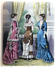 The London and Paris Ladies' Magazine of Fashion from 1881
