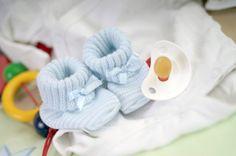 Strickanleitung Babyschühchen