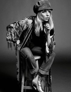 Lady Gaga by Inez & Vinoodh for Porter Magazine - 2014.