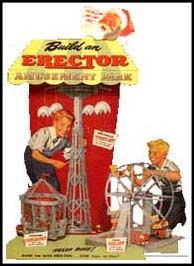 """Erector set. I've spent many hours """"helping"""" my older brother build with this toy back in the 50s"""