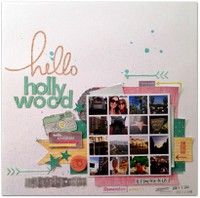 Hello Hollywood by *Kristine* from our Scrapbooking Gallery originally submitted 03/27/13 at 07:13 PM