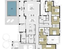 Floor Plan Friday: 5 bedrooms and a workshop