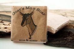 Goat's Milk Soap - Milk & Honey. $3.00, Via Etsy