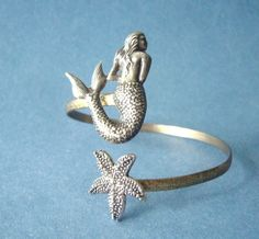 Mermaid Bracelet With A Seashell.