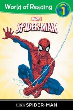 This is Spider-Man Level 1 Reader (World of Reading) by Thomas Macri http://smile.amazon.com/dp/1423154088/ref=cm_sw_r_pi_dp_NxUyub1EGM502