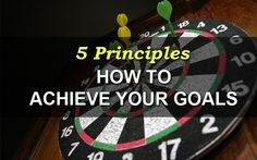 Here's how to achieve your goals... POWERFUL!