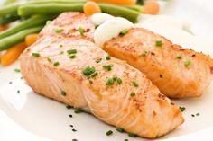 """salmon @ à la carte restaurant """"das Linsberg"""""""