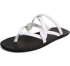 Men-039-s-Leather-Strappy-Flip-Flops-Casual-Gladiator-Flats-Roman-Sandals-Shoes-Size