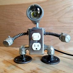 Robot Lamp (2 in 1) (125.00 USD) by JosephBarral