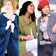 plus size knitting patterns FREE PATTERN ♥ 3000 FREE patterns to knit ♥ http://pinterest.com/DUTCHYLADY/share-the-best-free-patterns-to-knit/