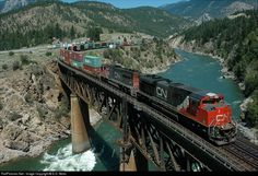 RailPictures.Net Photo: CN 8013 Canadian National Railway EMD SD70M-2 at Lytton, British Columbia, Canada by E.D. Motis