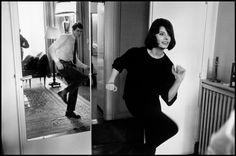 Elliott Erwitt. A Perkins & S Loren 1962 Paris