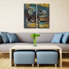 Ready2HangArt 'Abstract ABS VII' Canvas Wall Art