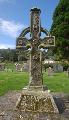 South Cross, Ahenny. Count Tipperary, Ireland. 8th century. Stone.