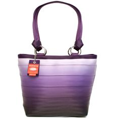 carriage ring tote - ombre