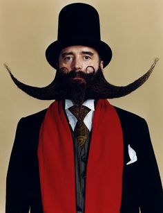 Heinz Christofel, Beards & Moustaches