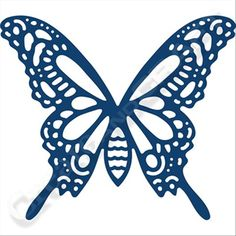 Tattered Lace Radiant Butterfly Die