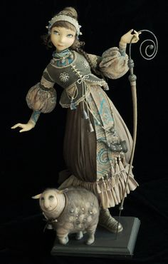 Tamara Pivnyuk Art Dolls / Dolls / Shepherdess