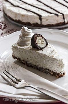 Túrós-csokis torta
