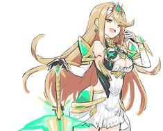 Cute Anime Character, Game Character, Character Design, Kawaii Anime Girl, Anime Art Girl, Girls Characters, Anime Characters, Super Smash Bros Game, Xeno Series