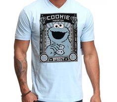 $179.00 Playera Come Galletas Cookie Monster - Comprar en Jinx