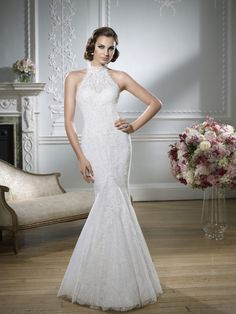Wedding dress Inspirations!    Flare for the Dramatic: 10 Beautiful Mermaid Wedding Gowns