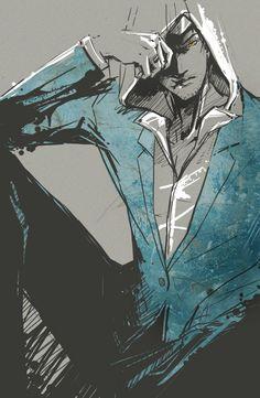 Altair in Suit by Natalia-L.deviantart.com on @DeviantArt