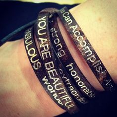 Good Work(s) - The You Are Bracelet