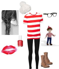 """Wheres Waldo?"" by maddigunn on Polyvore"