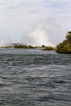 Why not?: Victoria Falls, dette anche Mosi-oa-Tunya, il fumo...