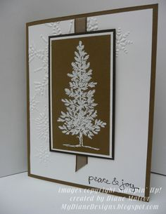 Lovely Greetings - http://mydianedesigns.blogspot.com/ Stampin' Up!, Lovely As A Tree, Good Greetings