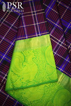 PSR SILKS #saree #silk #designer #indian #fashion #bridal #wedding #women #traditional #new #stylish #gorgeous #design #handloom #pure #pallu #classic #zari #kanchipuram #kanchi #ethnic #PSR #collections #trendy #blouse www.facebook.com/...