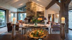 Kohatu - Luxury Holiday Home Wanaka, South Island Millbrook Resort, Single Day Bed, New Zealand Hotels, American Farmhouse, Timber Deck, Elegant Dining, Luxury Accommodation, Luxury Holidays, Stone Houses