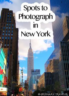 Places to Photograph in New York