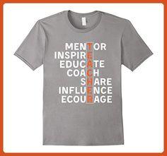 Mens Educate Coach Teacher Shirts | Teacher Appreciation Gifts Medium Slate - Careers professions shirts (*Partner-Link)