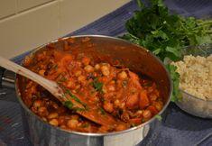 Carrot & Date Tajine -- *B+* Yummy. Good levels of spices.