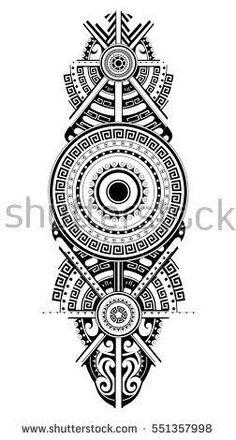Image result for plantillas tatuaje maori