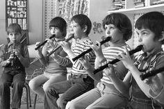 Blockflöte spielen