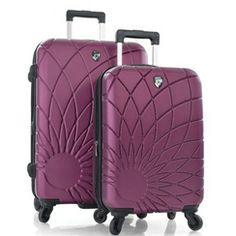 The perfect set for your honeymoon, the Heys 'Solar' 2-Piece Expandable Upright Luggage Set from Sears!