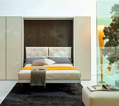 Space Saving Beds -Check this queen Space saving beds -GoDownsize.com GoDownsize.com