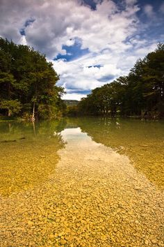 Frio River, Central Texas - just look at that crystal clear water