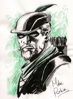 Green Arrow by Mike Perkins