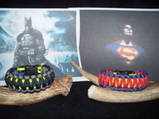 batman paracord bracelet | BATMAN and SUPERMAN Paracord Bracelets & THE ONE ON THE LEFT!!!