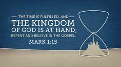 "Verse of the Day from Logos.com    마가복음 1:15, 이르시되, ""때가 찼고, 하나님의 나라가 가까이 왔으니, 회개하고 복음을 믿으라!"" 하시더라."