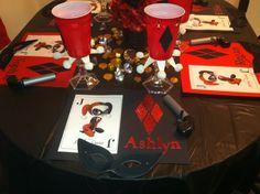 Harley Quinn Birthday Party Pic #2