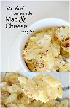 """The Best"" Homemade Mac and Cheese Recipe 