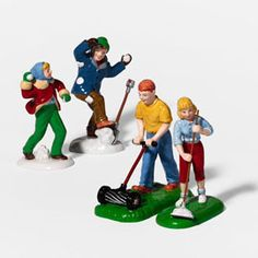 """Department 56: Products - """"Work A Little, Play A Little"""" - View Accessories"""
