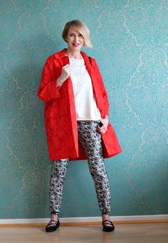 a fashion blog for women over 40 and mature women  Coat: Baum + Pferdgarten Pants: Dorothee Schumacher Sweater+Shoes: Zara