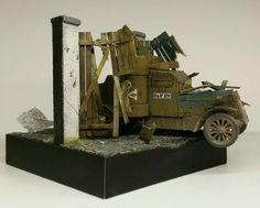"""1:72 """"Crashing the gate"""" German civil war 1919"""